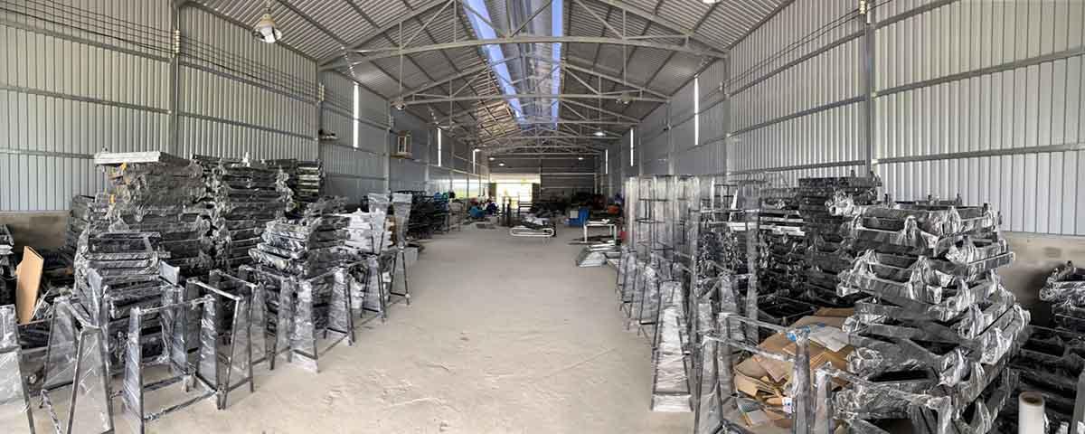 Xưởng sản xuất sắt thép