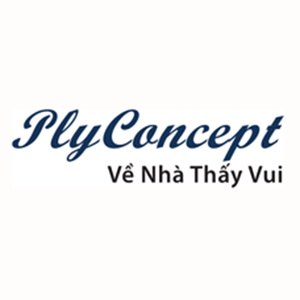 plyconcept nội thất uốn cong