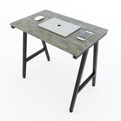 Bàn Mini MHome gỗ cao su chân chữ A lắp ráp HDIDE68011