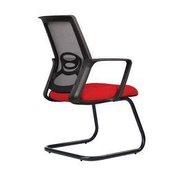 Ghế phòng họp chân quỳ nệm đỏ M1041-02