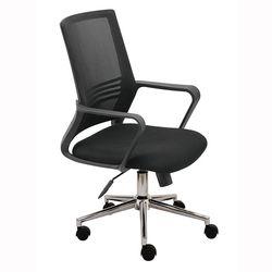 Ghế văn phòng chân xoay màu đen M1051-01