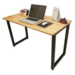 Bàn làm việc gỗ cao su chân gấp gọn 120x60x75(cm) HDSPD005