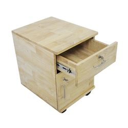 Tủ hồ sơ cá nhân có ngăn kéo và ngăn cửa mở gỗ tự nhiên 40x50x50(cm) HDTCN003