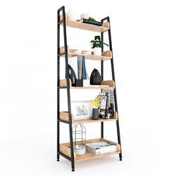 Kệ CASAN 5 tầng gỗ kết hợp khung sắt 60x36x160(cm) HDKS093