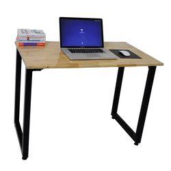 Bàn làm việc gỗ cao su chân gấp gọn 100x60x75 (cm) HDSPD016
