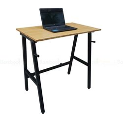Bàn làm việc đứng 60x100cm StaDesk gỗ tre chân chữ A cao 105cm HDSTD68023