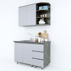 Hệ tủ bếp mini gỗ cao su 1m2 nhiều ngăn nhỏ gọn HDBTB68007Hệ tủ bếp mini gỗ cao su 1m2 nhiều ngăn nhỏ gọn HDBTB68007