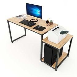 Bàn vi tính kết hợp kệ CPU và máy in 160x60x75(cm) COD68043
