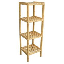 Kệ gỗ tre ép 4 tầng BSHELF (34x33x110cm) HDBS002