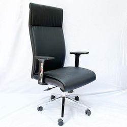 Ghế văn phòng chân xoay nệm simili màu đen MF6635D
