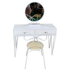 Bộ bàn trang điểm PRINCESS 3 món full trắng BTD68028