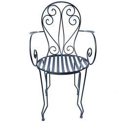 Ghế cafe ngoài trời sắt hoa văn sơn tĩnh điện GCF085