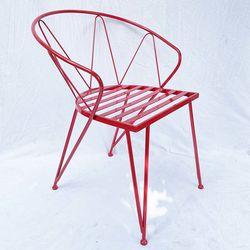 Ghế sắt ngoài trời sơn tĩnh điện nhiều màu GCF089