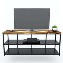 Kệ Tivi UNMA2 140cm đơn giản mặt gỗ Tràm KTV68079