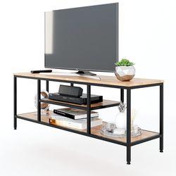 Kệ Tivi ZAME 140cm đơn giản khung sắt gỗ cao su KTV68077