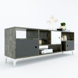 Kệ Tivi DRUPAL 150cm gỗ cao su KTV68045