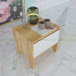 Tủ nhỏ để đầu giường bằng gỗ 1 ngăn kéo - 50x40x50 (cm) HDTDG68008