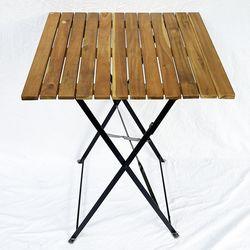 Bàn xếp gọn ngoài trời SHEFIELD mặt gỗ tràm CFD68088