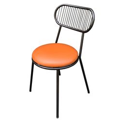 Ghế cafe nệm tròn khung sắt sơn tĩnh điện GCF072