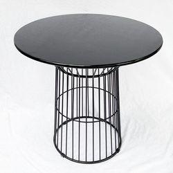 Bàn ăn CUBE tròn 80cm chân sắt tròn BA68052Bàn ăn CUBE tròn 80cm chân sắt tròn BA68052