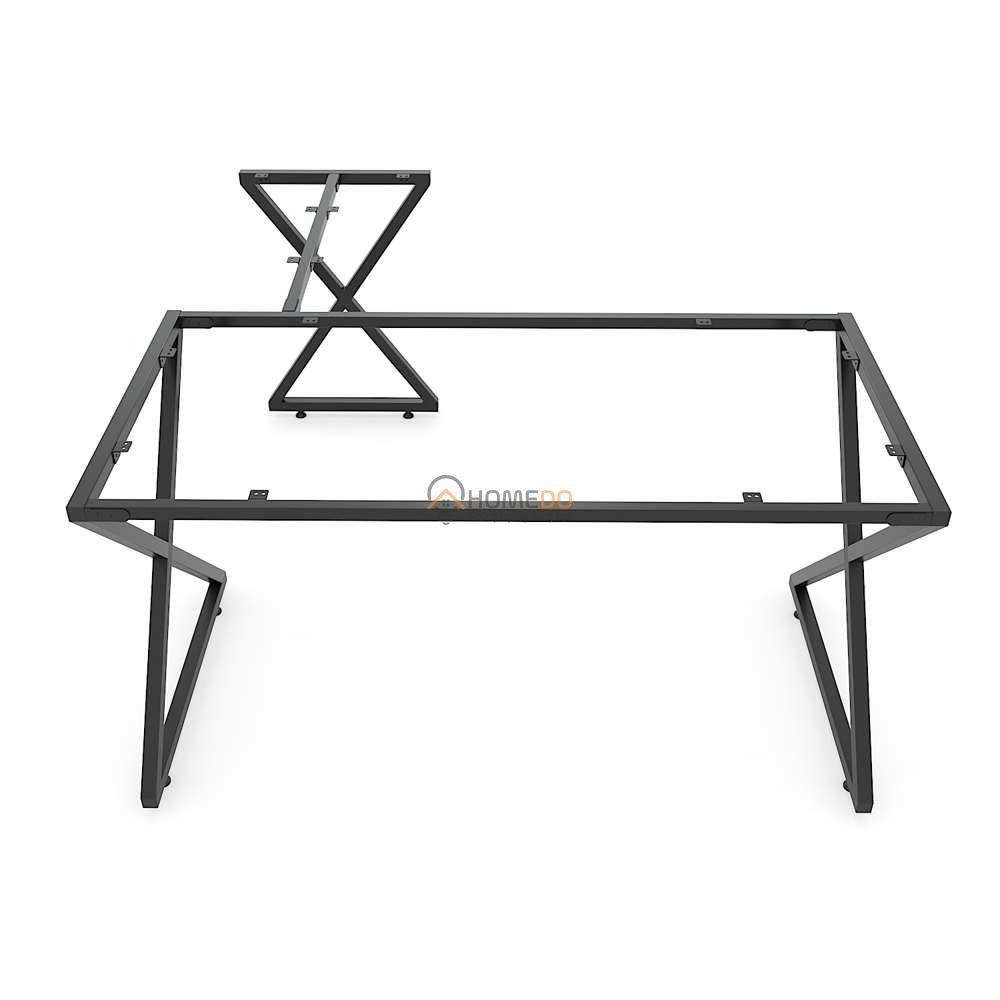 Chân bàn sắt cơ cấu lắp ráp ngàm