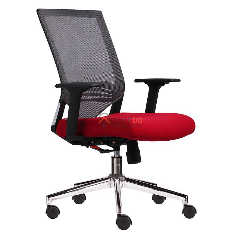 Ghế văn phòng chân xoay lưng lưới M1008-02