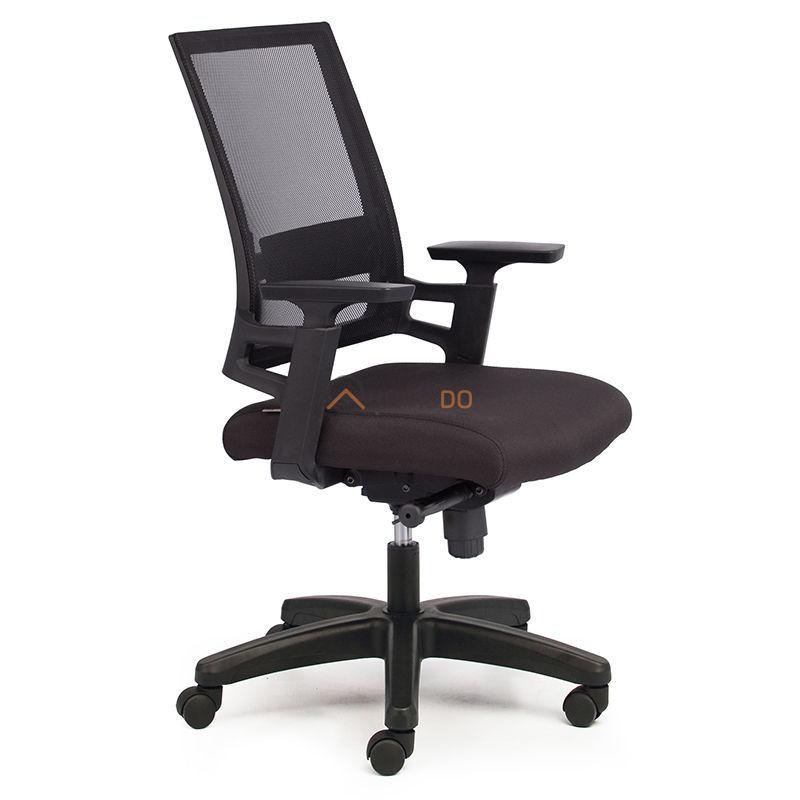 Ghế văn phòng chân xoay tay liền lưng M1085-03