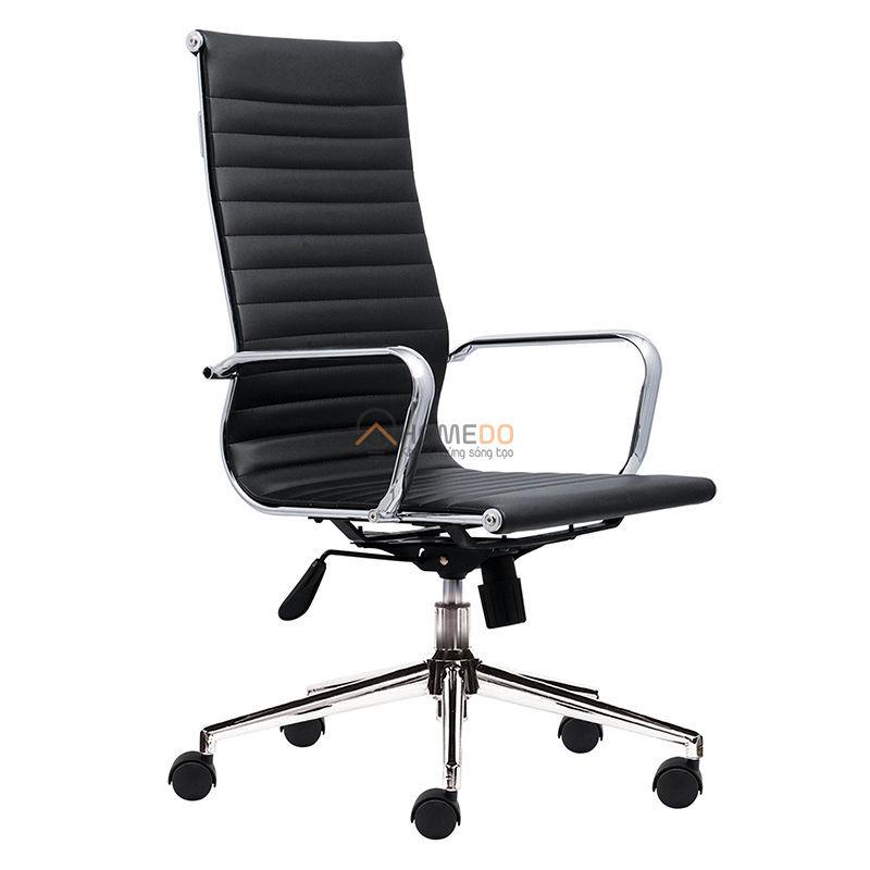 Ghế văn phòng lưng cao gợn sóng M1007-01