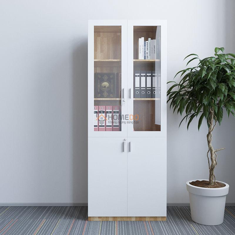 Tủ hồ sơ gỗ cao su